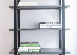 how to style a bookshelf with homepolish u0027s orlando soria