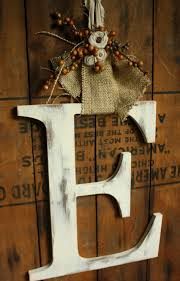 Decorative Letters For Home Wreath