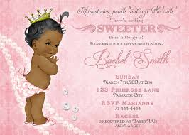 african american baby shower invitation free thank you