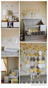 Gray And Yellow Nursery Decor Yellow Nursery Ideas Palmyralibrary Org
