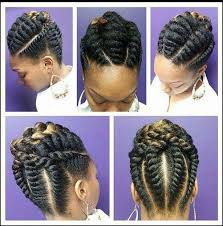 cornrow and twist hairstyle pics replace your cornrows with these flat twist braids