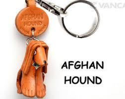 afghan hound keyring dachshund 3d leather dog keychain keyring purse charm zipper