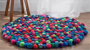 tappeti fai da te tappeto pompon fai da te tutorial