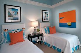 blue and orange decor hot summer color combinations ideas trends
