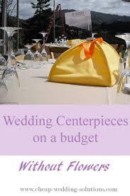 Cheap Wedding Centerpiece Ideas Cheap Wedding Centerpiece Idea Without Flowers