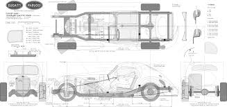 bugatti type 57sc atlantic 1938 bugatti type 57sc atlantic coupe blueprints free outlines