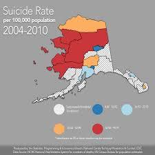 Alaska On Map by Looking At Alaska U0027s High Rate Alaska Public Media
