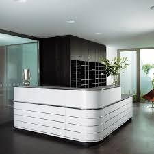 Designer Reception Desk Furniture Creative Wood Reception Desk Design For Hotel Or