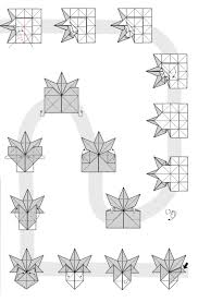 Thanksgiving Leaf Template Autumn Origami Fall Season