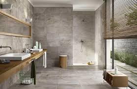 braune badezimmer fliesen braune fliesen steinoptik wohndesign