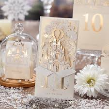 3d wedding invitations wishmade 3d wedding invitations customize laser cutting invitation