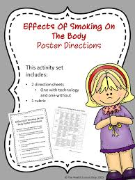 effects of smoking on the body poster effects of smoking