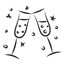 champagne cartoon champagne icon