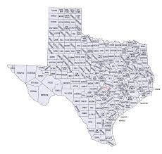 map of texas tx cities poster feedage 23643307