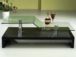 contemporary square glass coffee tables u2014 contemporary
