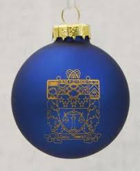 your fraternity crest beveled ornament new ornament and