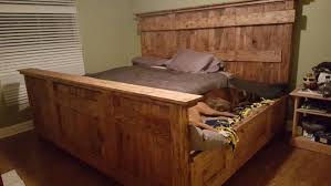 King Wood Bed Frame California King Wood Bed Frame Salem Oregon Vine Dine King Bed