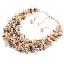 jewelry necklace pearl images Pearl necklace trendy jewelry brands big choker gizmo betty jpg