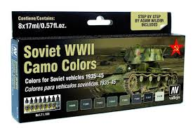 michigan toy soldier company vallejo soviet vehicles wwii camo