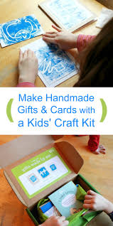 monoprinting with kids the easy way craft kits and kiwi crate