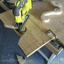 diy wooden chandelier light fixture sawdust 2 stitches