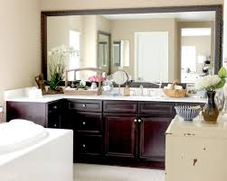 lowe u0027s bathroom mirror frame kit add to existing and framed