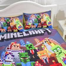 Minecraft Bed Linen - minecraft bedding for kids