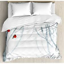 themed duvet cover winter themed bedding wayfair