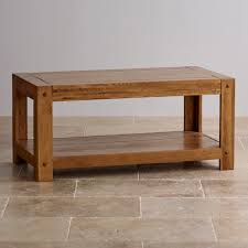 Buy Coffee Table Uk Quercus Coffee Table In Rustic Solid Oak Oak Furniture Land