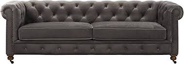 Grey Velvet Sofa by Velvet Sofas And Couches Amazon Com