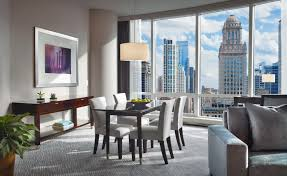 Private Dining Rooms In Chicago Suites In Chicago Trump Chicago Grand Deluxe Suites 2