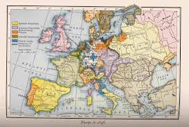 Map Of Europe 1914 Europe 1914 Map Pointcard Me