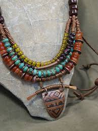 leather necklace women images 143 best boho jewelry images necklaces diy jewelry jpg