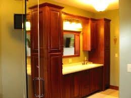 bathroom vanity and linen cabinet combo bathroom vanities with linen cabinet cherry built master bathroom