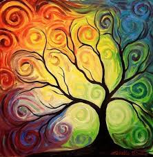 rainbow tree of gallery rainbows
