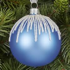 Blue Christmas Decorations The Range by Buy John Lewis Snowshill Spun Glass Bauble Online At Johnlewis Com