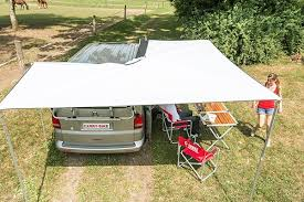 Camper Van Awnings Fiamma Compass Canopy Awning For 4x4 Suv And Campervan Fiamma