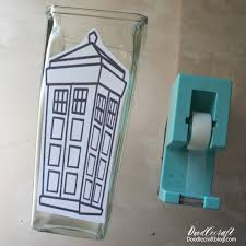 Stained Glass Vase Doodlecraft Doctor Who Tardis Stained Glass Vase
