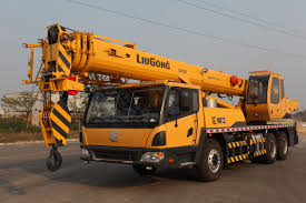 truck crane products liugong