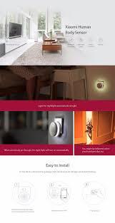 new gift box original xiaomi smart home kit gateway door window
