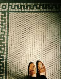 Vintage Bathroom Tile by Vintage Hex Tile Flooring Pinterest White Tiles Kitchens