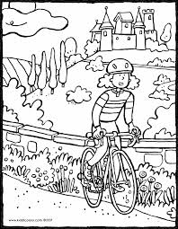 transport colouring pages kiddi kleurprenten