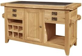 oak kitchen island units kitchen islands oak genwitch