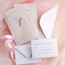 cheap wedding invitations online brides decorations low cost wedding invitations white