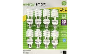 8 fluorescent light bulbs ge 13 watt energy smart fluorescent light bulbs 8 pack groupon