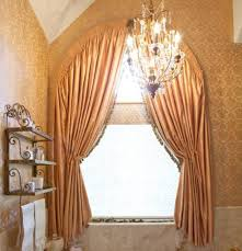 home design and decor fancy arched window treatments italian