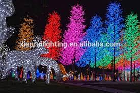 led landscape tree lights holiday christmas decoration led firework lights outdoor led