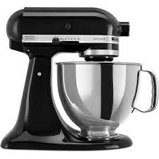 all black kitchenaid mixer volt kitchenaid 5ksm150pseob artisan stand mixer onyx black