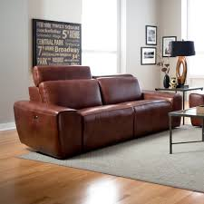 Palliser Leather Sofas Beaumont Genuine Leather Sofa Recliner Humble Abode