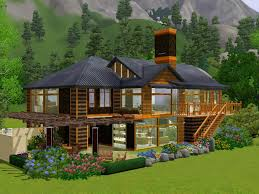mod the sims contemporary split level home